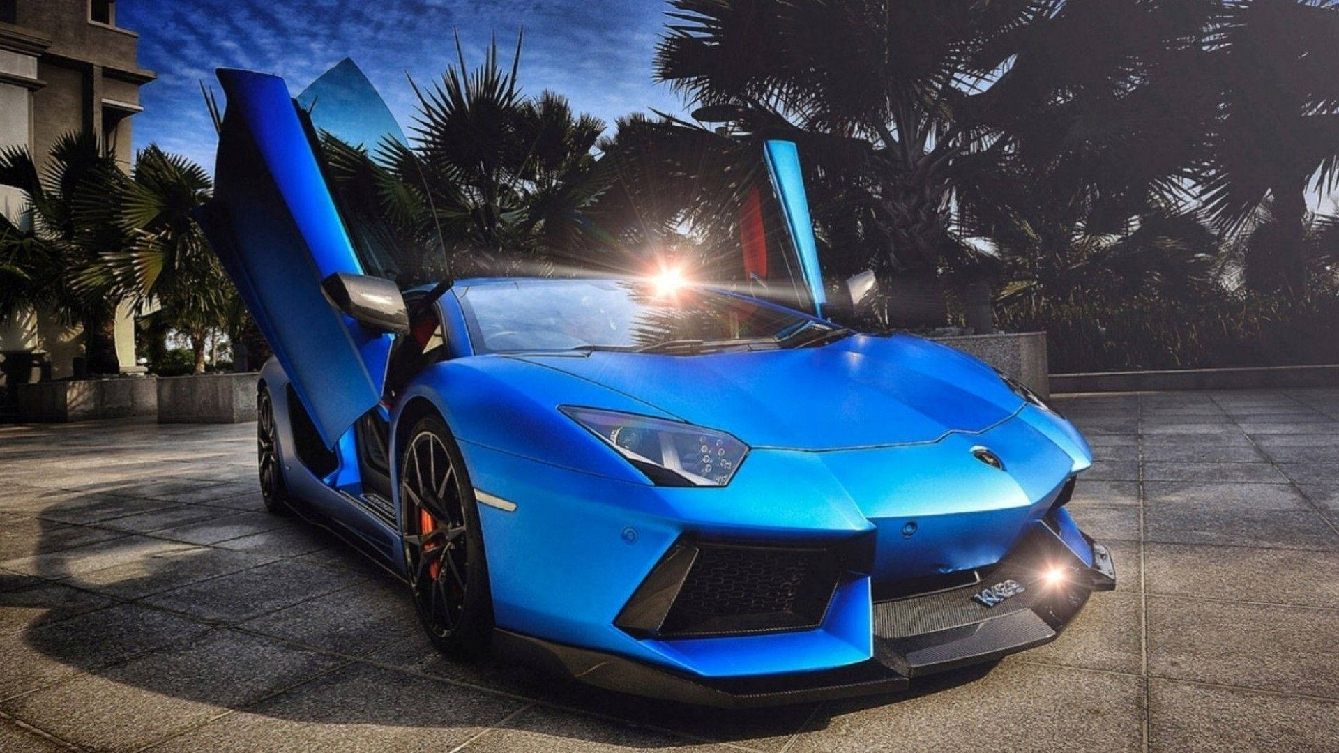 Blue Lamborghini Wallpaper For Android | Vehicles Wallpapers ...