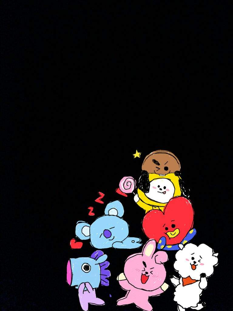 BT21 WALLPAPER | ARMY's Amino
