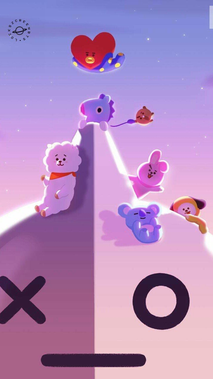 116 best BT21 images on Pinterest | Wallpapers