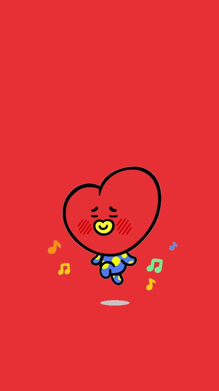 BTS TATA WALLPAPER KIMTAEHYUNG V BT21 | BTS WALLPAPER | Pinterest ...