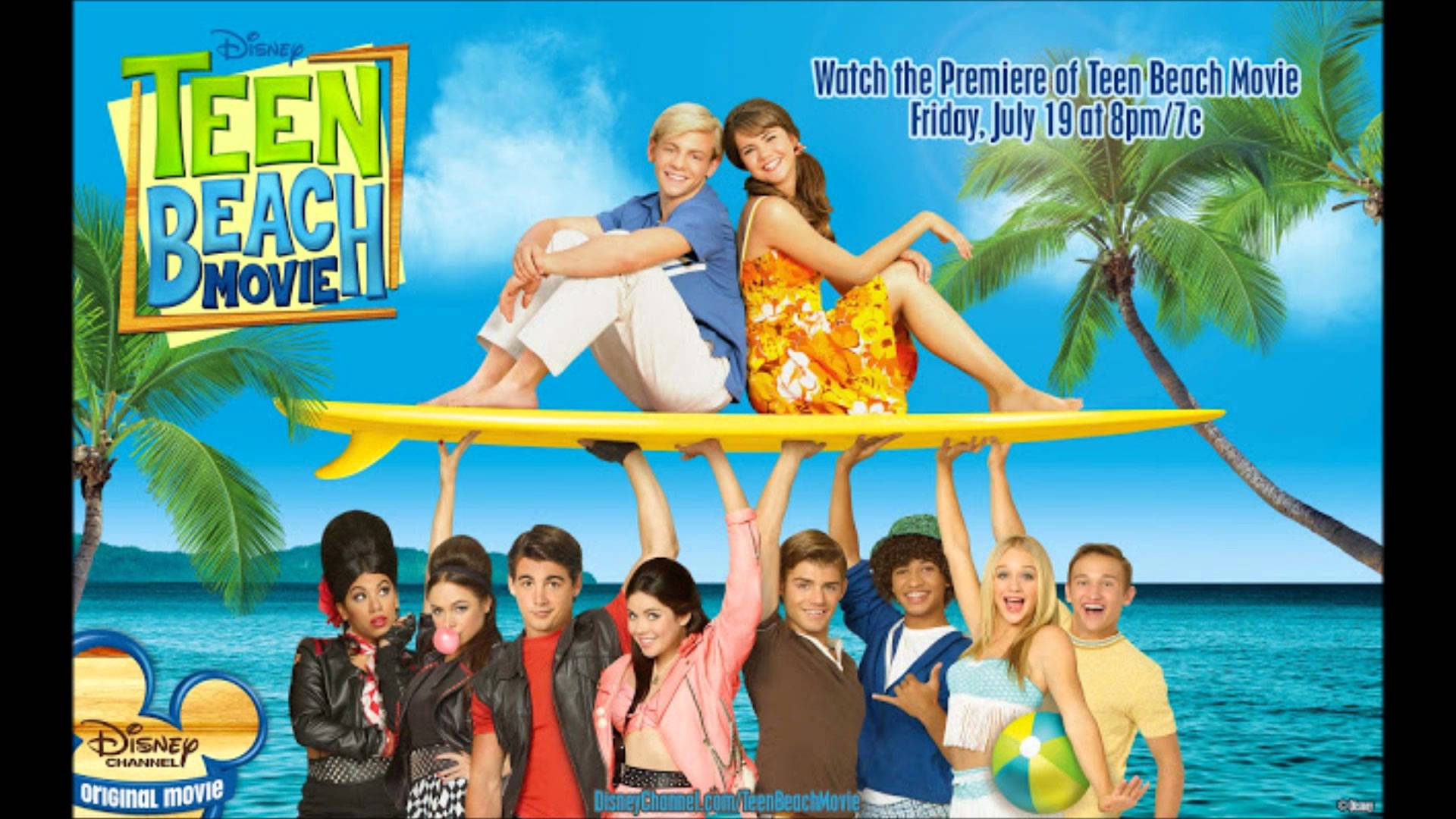 Disney Channel PT | Teen Beach Movie Soudtrack by Various Artists ...