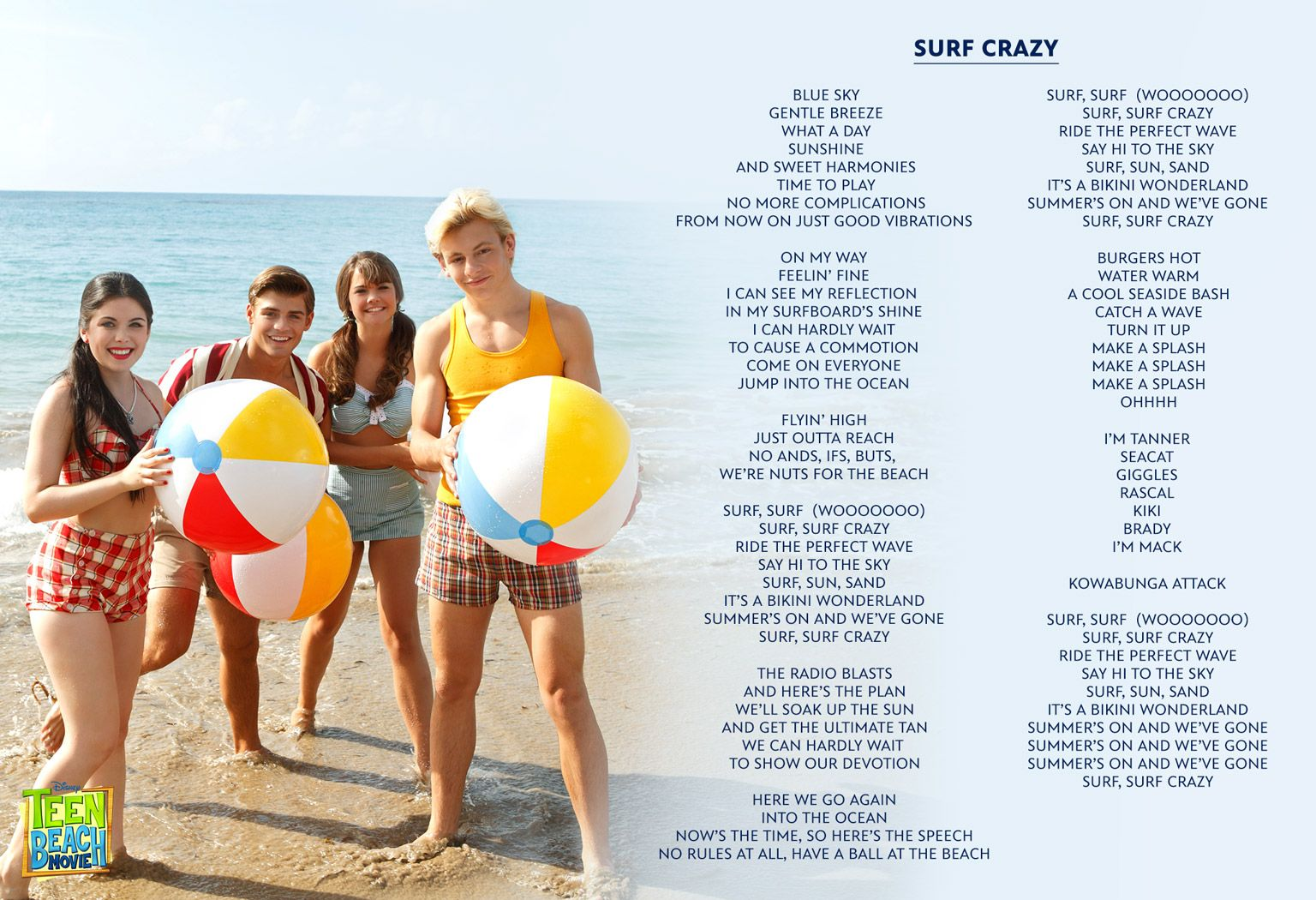 Image - Surf-crazy-lyrics-teen-beach-movie.jpg | Teen Beach Movie ...
