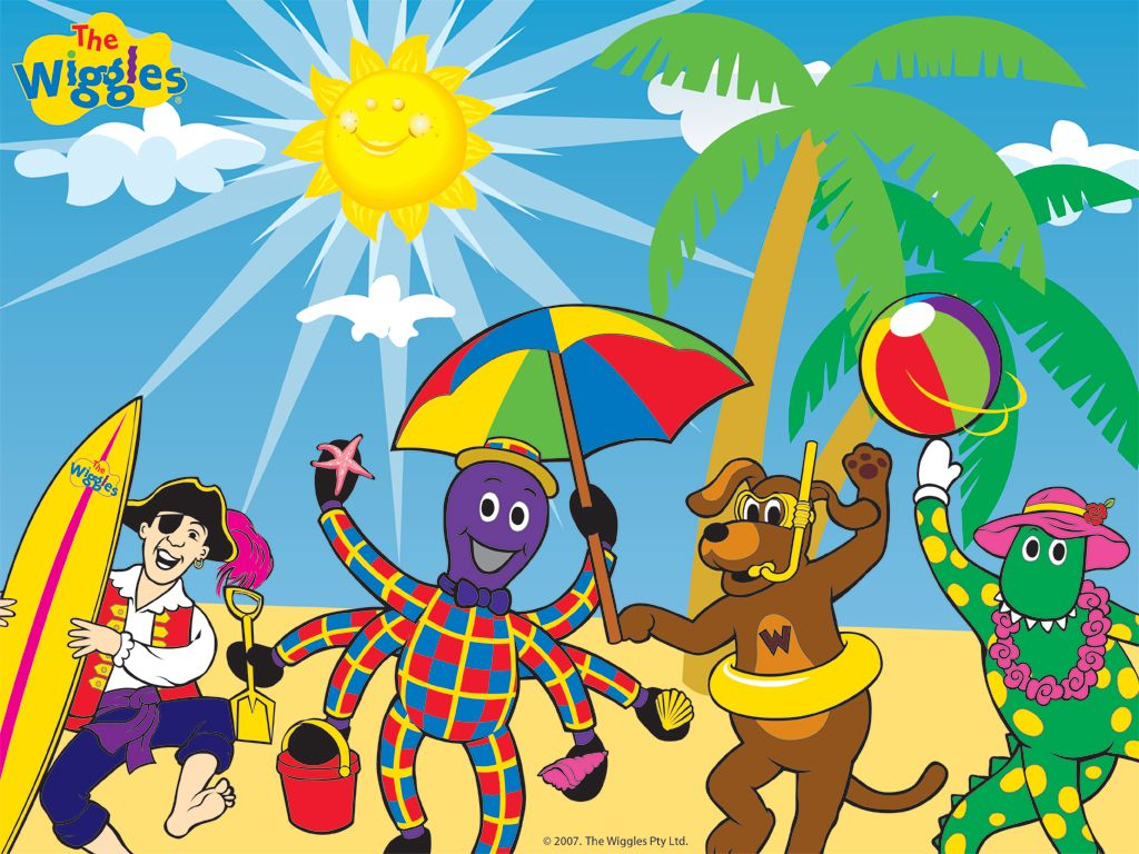 The Wiggles Friends On The Beach - the-wiggles Wallpaper | Cole ...