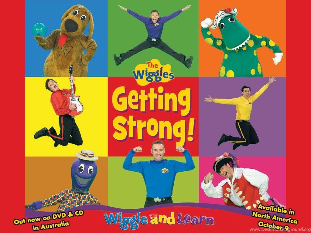 The Wiggles Getting Strong THE WIGGLES Wallpapers (26855402 ...