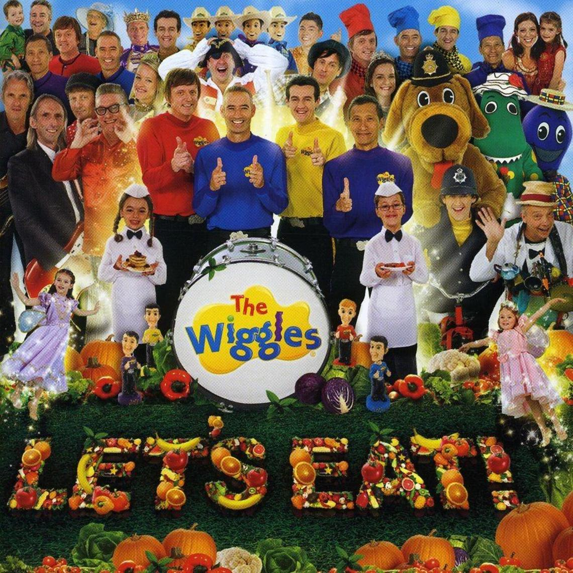 The Wiggles Lets Eat | wallpaper | Pinterest | Wallpaper and Rock