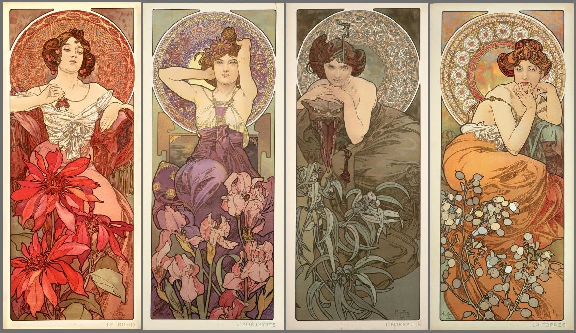 Free Alphonse Mucha Wallpapers Full Hd « Long Wallpapers