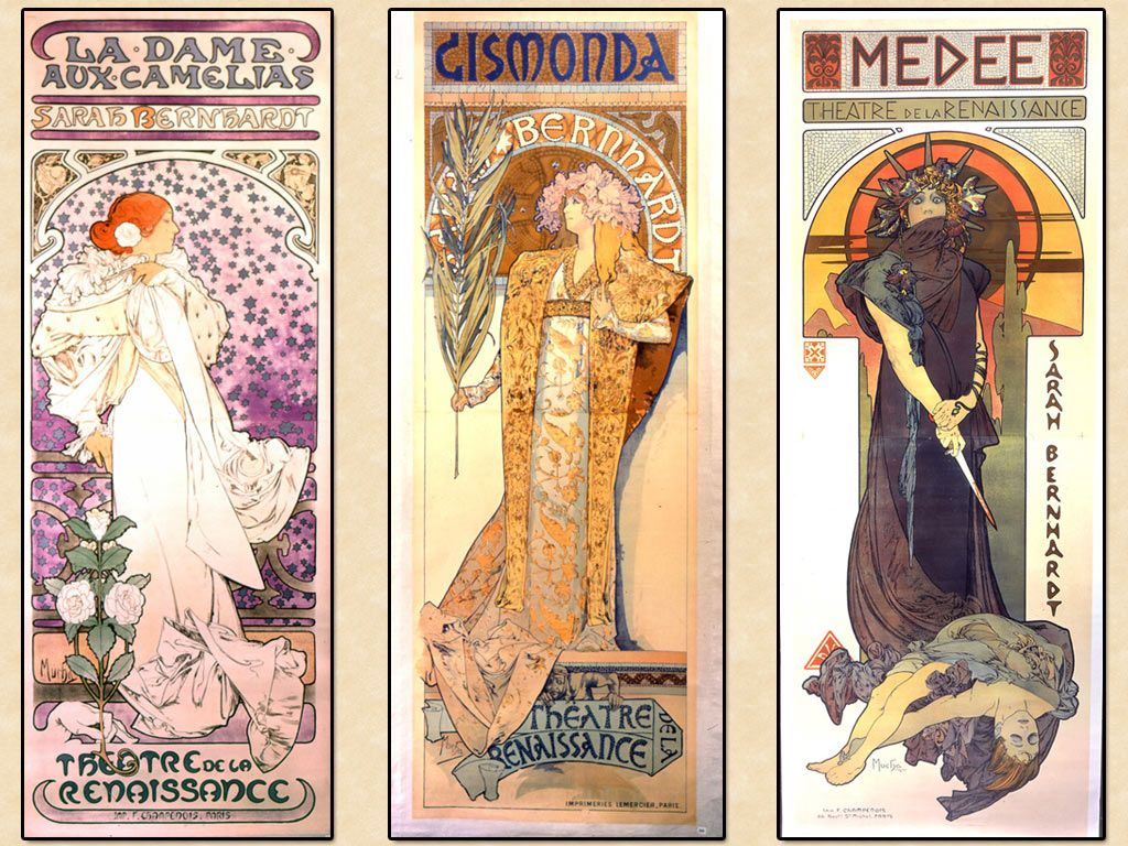 My Free Wallpapers - Artistic Wallpaper : Alphonse Mucha - Lithos