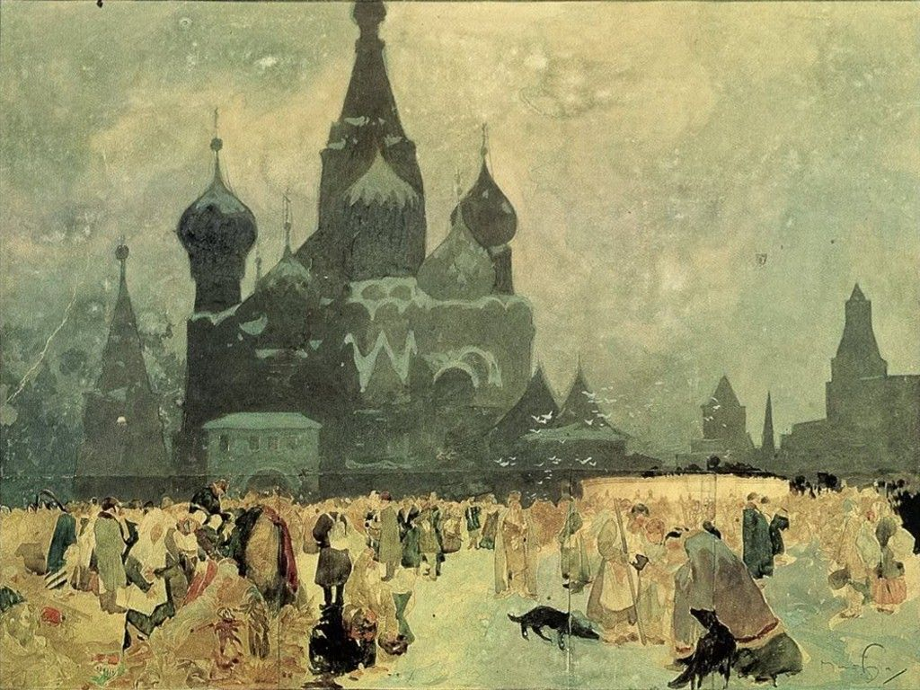 My Free Wallpapers - Artistic Wallpaper : Alphonse Mucha - Slav Epic
