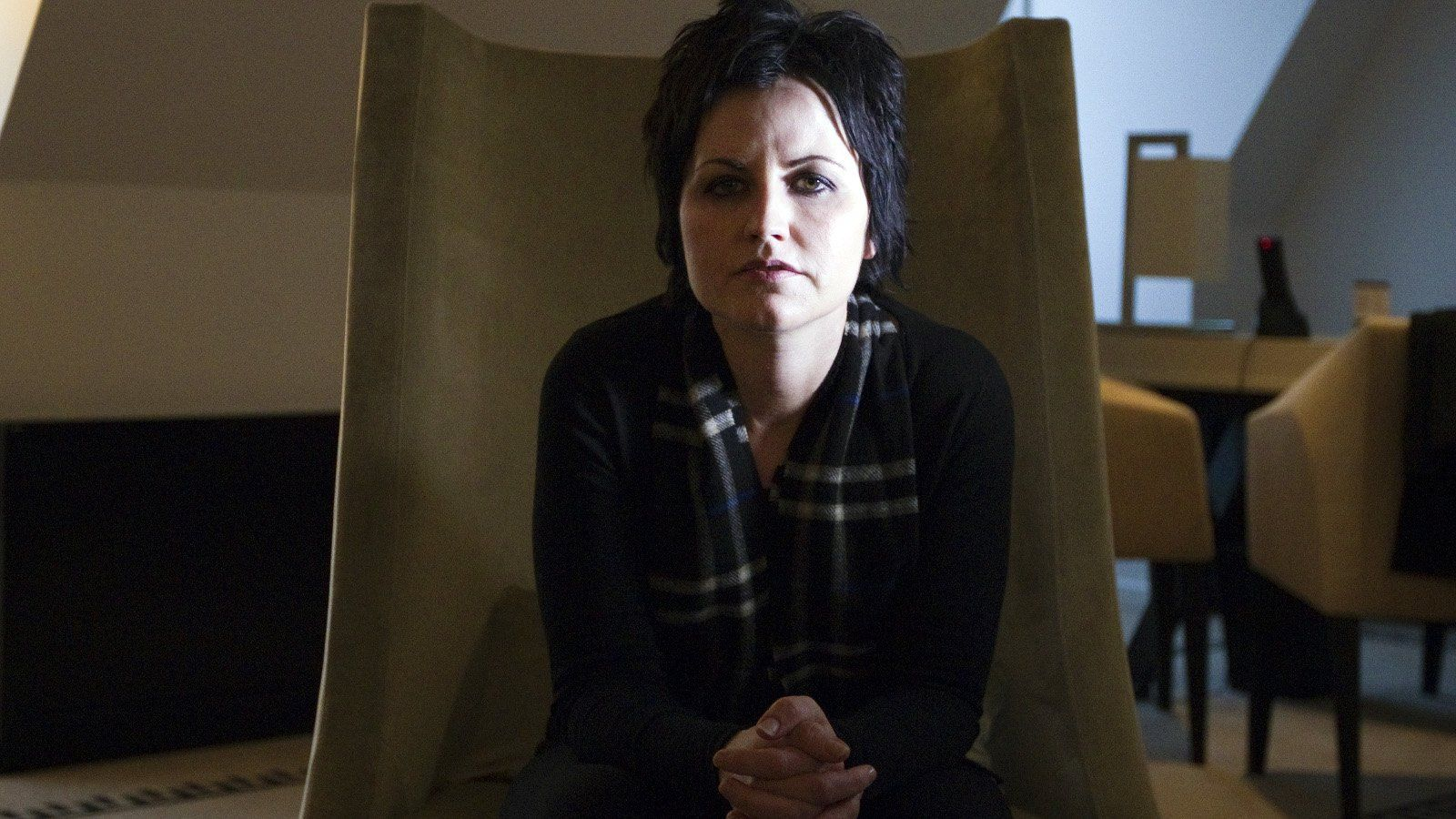 Dolores O'Riordan feels protected by late father