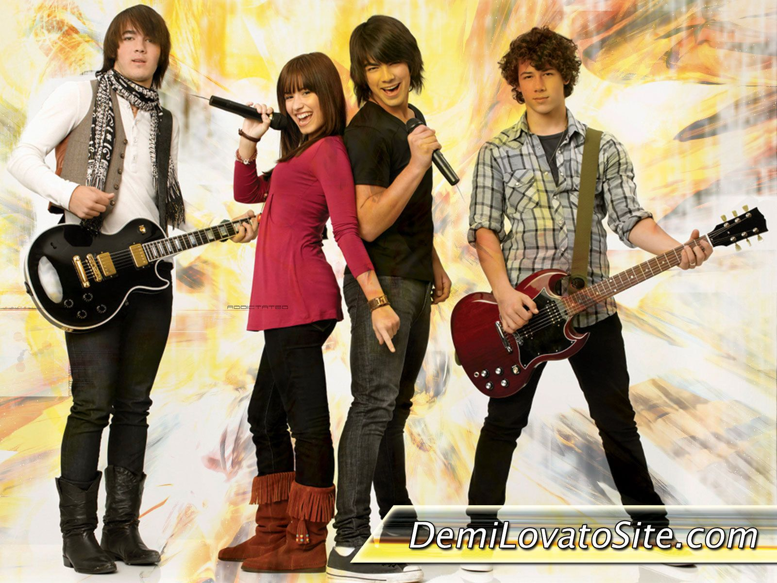 Demi Lovato and Jonas Brothers images demi lovato and jonas ...