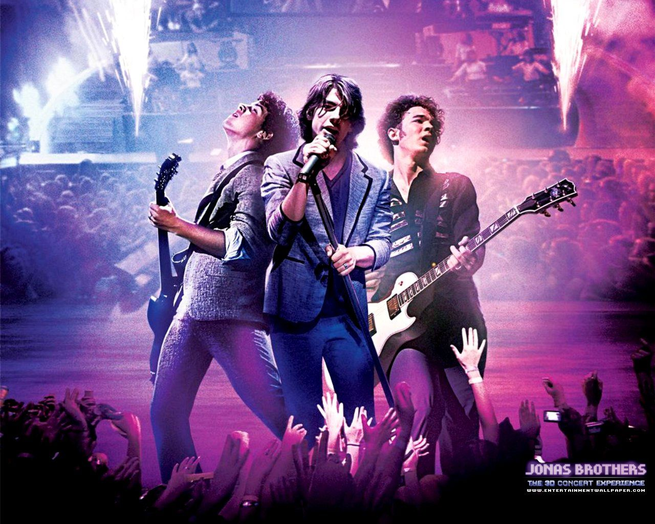 Jonas Brothers: The 3D Concert Experience Wallpaper - #10015829 ...