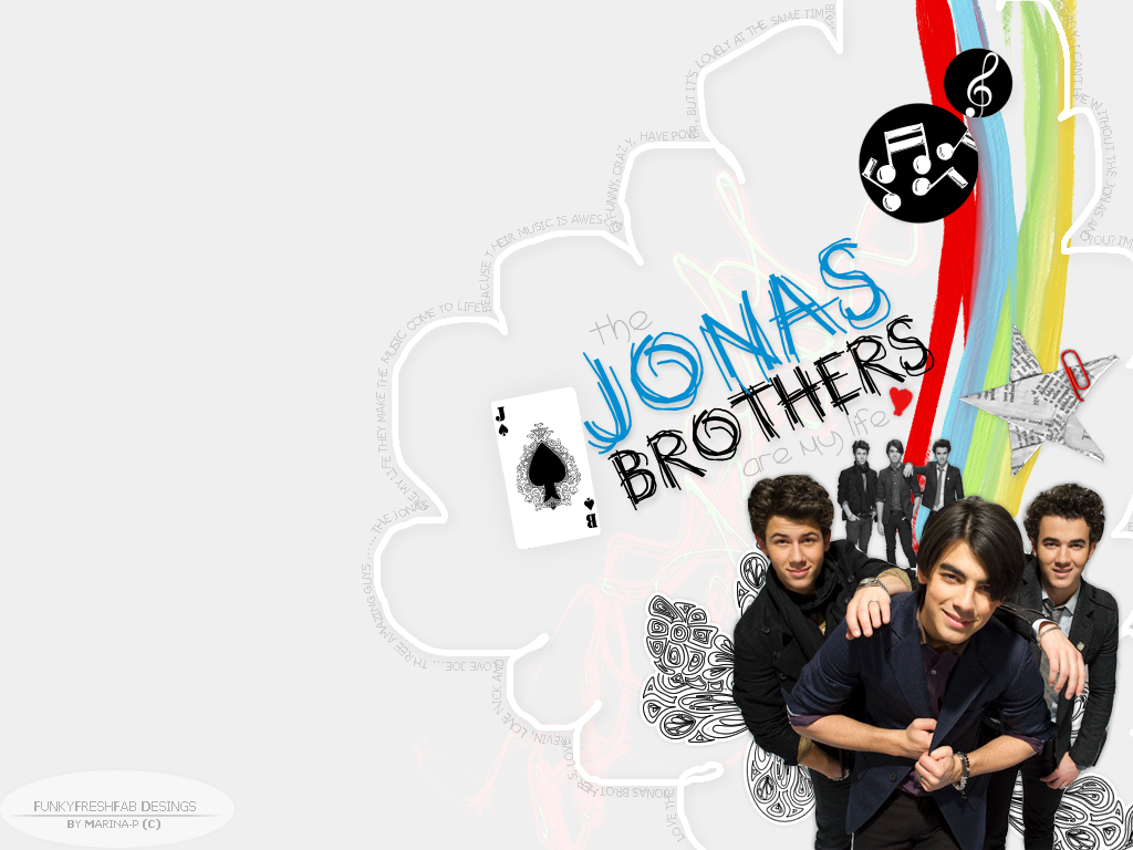 Jonas Brothers Wallpaper by funkyfreshfab on DeviantArt