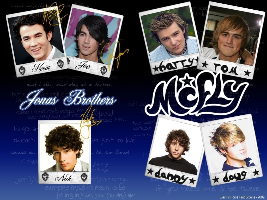 McFly and Jonas Brothers images JB and McFly Wallpaper HD ...