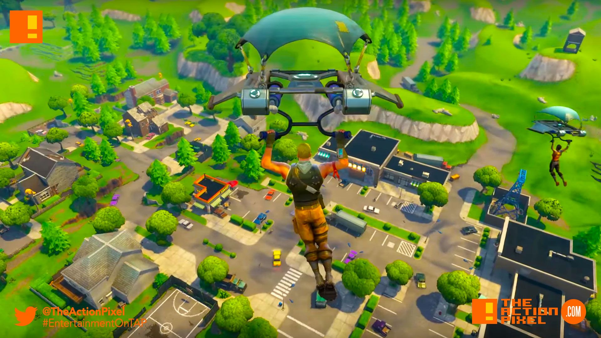 "Fortnite Battle Royale"" lets 100 gamers battle it out on 1 map to ..."