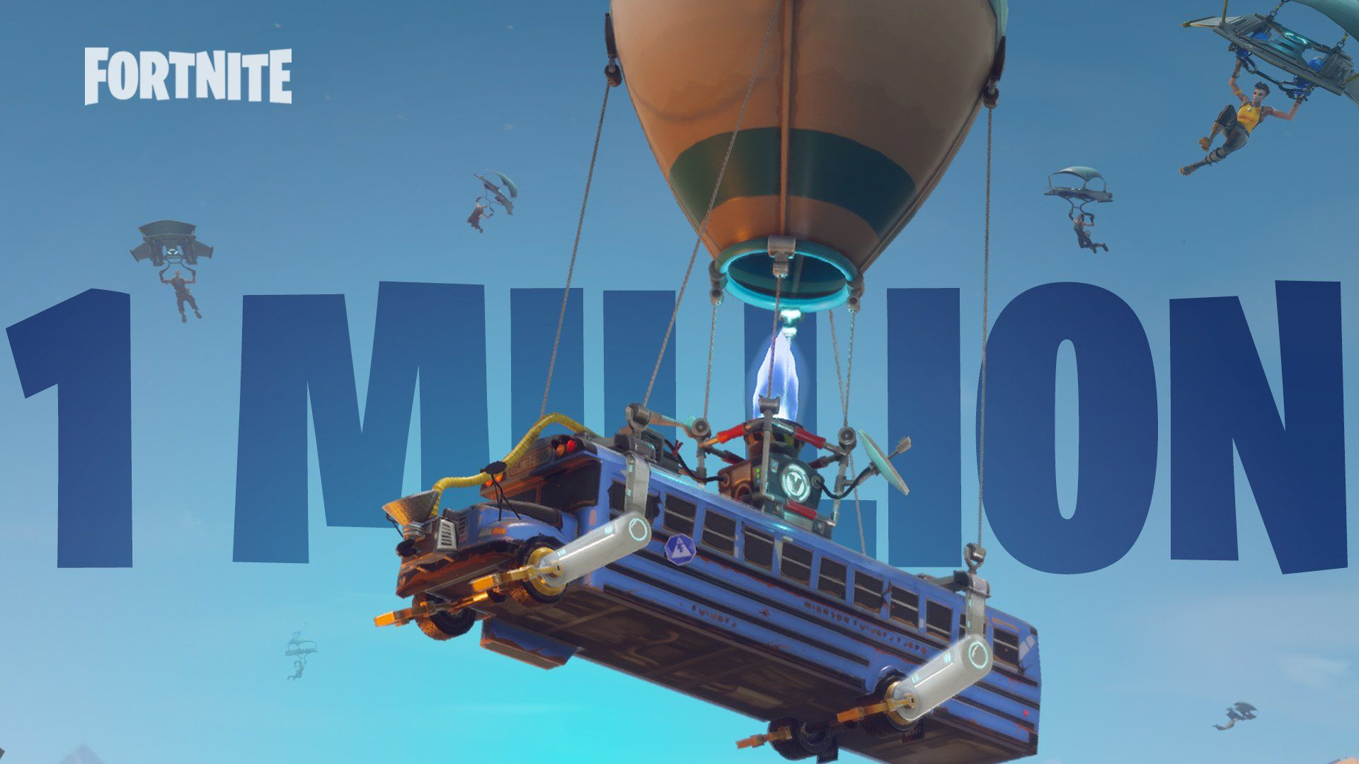 Fortnite: Battle Royale Reaches Over One Million Players in First ...
