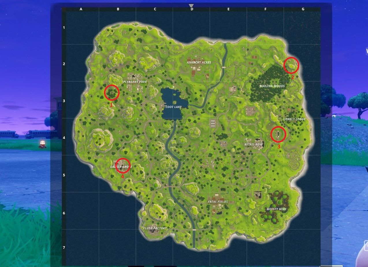 Fortnite Battle Royale: Best Places to Land to Find Loot | Indie ...