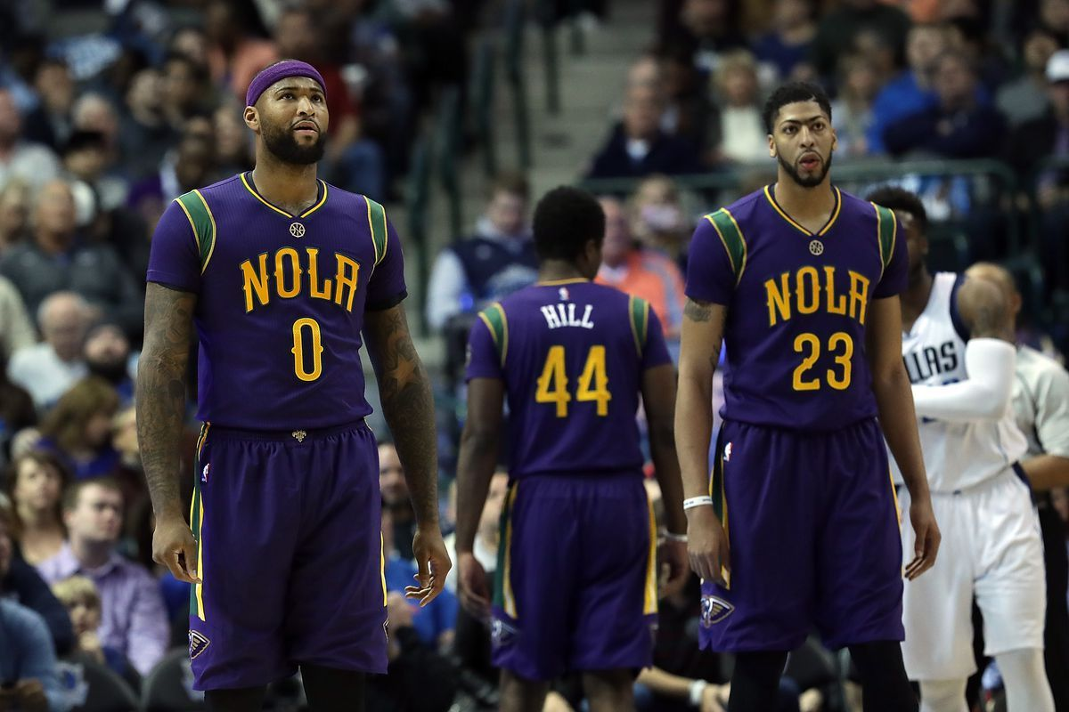 The DeMarcus Cousins experiment with Anthony Davis isn't working ...