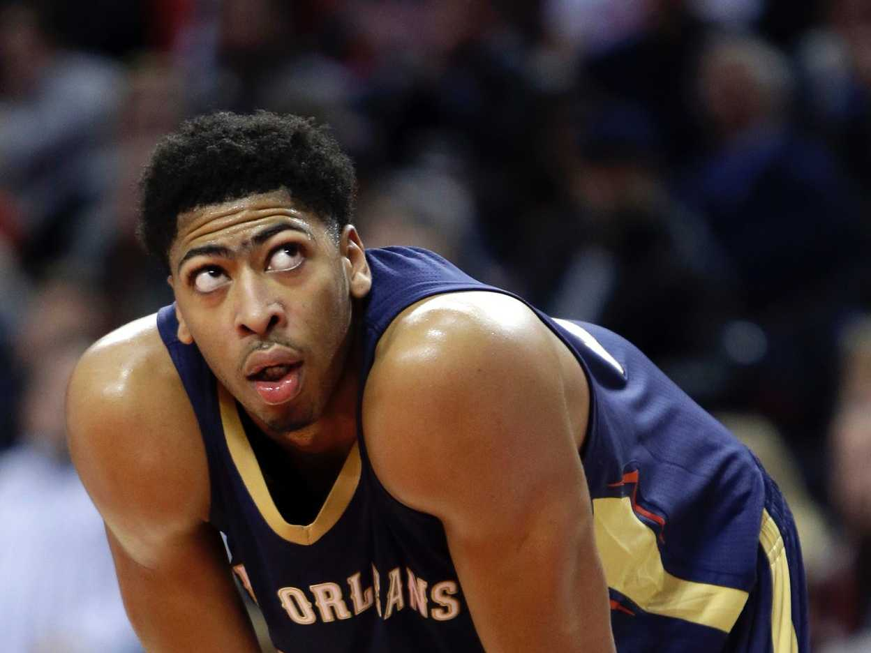 Anthony Davis Got Scary Good, And The NBA World Wasn't Ready For ...