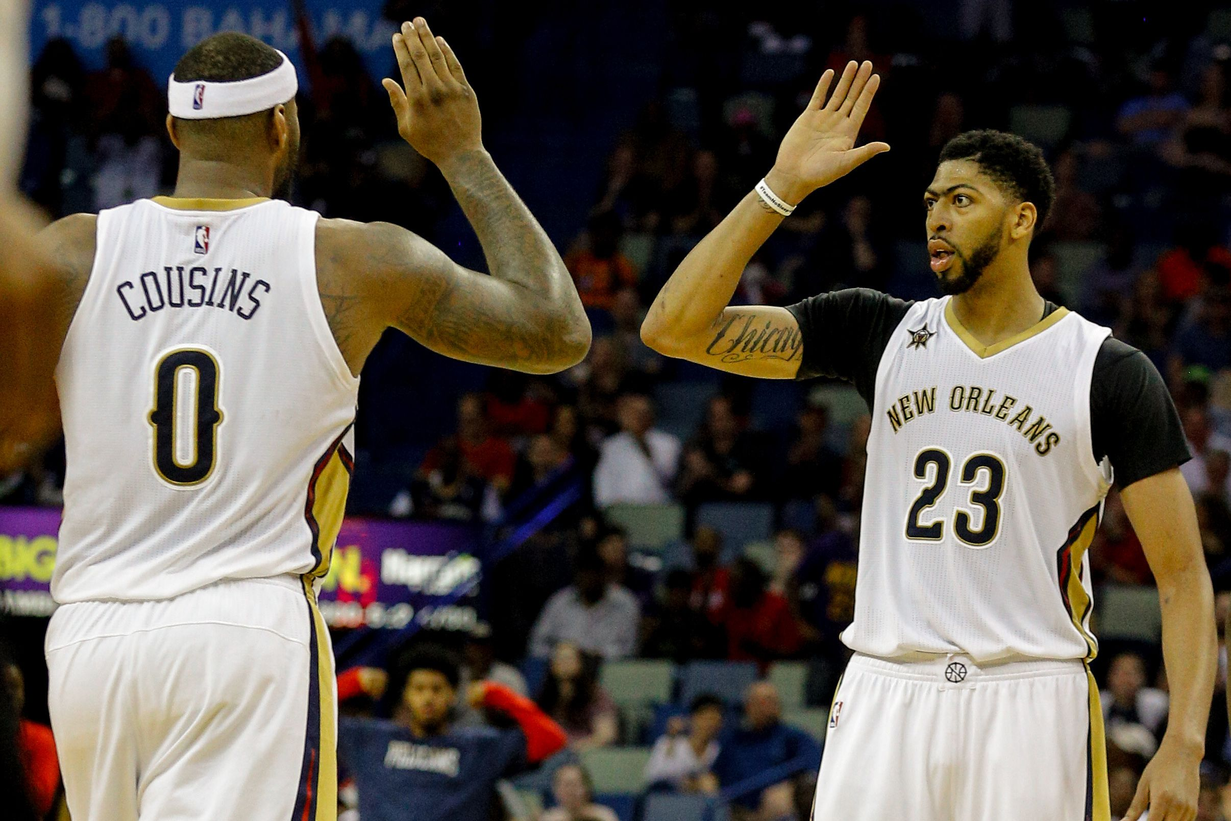 If history repeats, a healthy Anthony Davis and DeMarcus Cousins ...