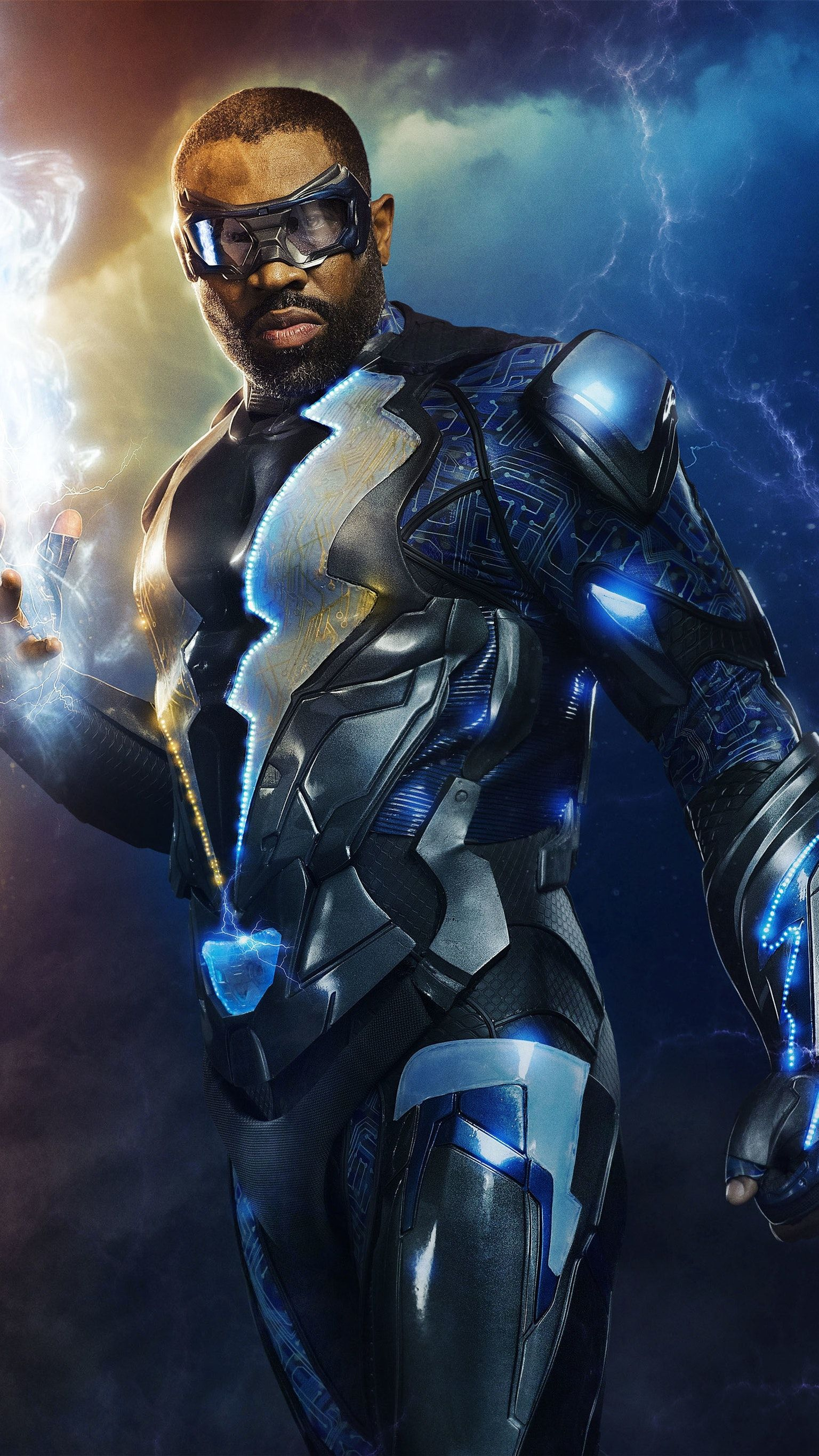 Black Lightning Phone Wallpaper | Moviemania