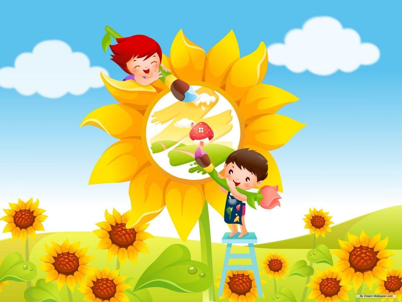 Children Wallpaper Background - Viewing Gallery