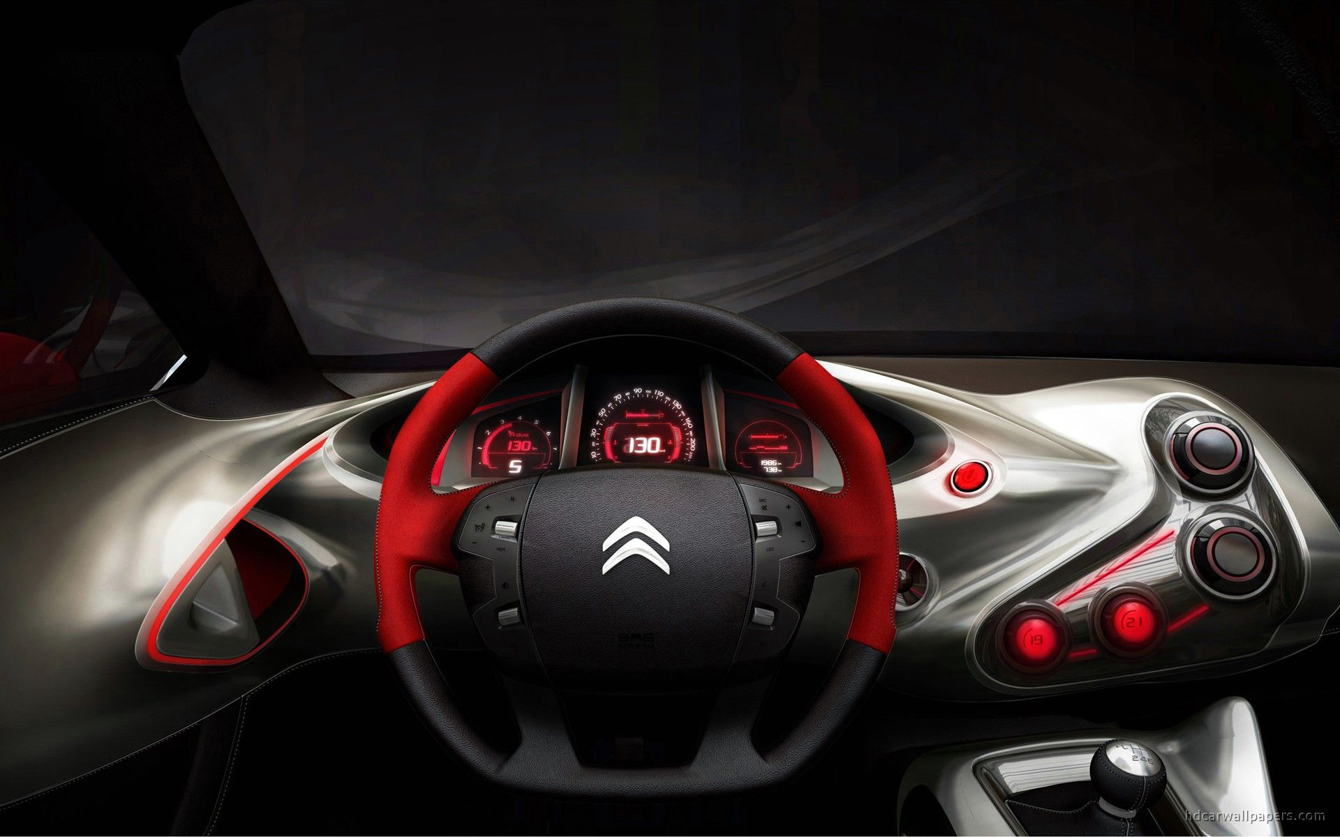 2010 GQbyCITROEN Concept Car Interior Wallpaper | HD Car Wallpapers