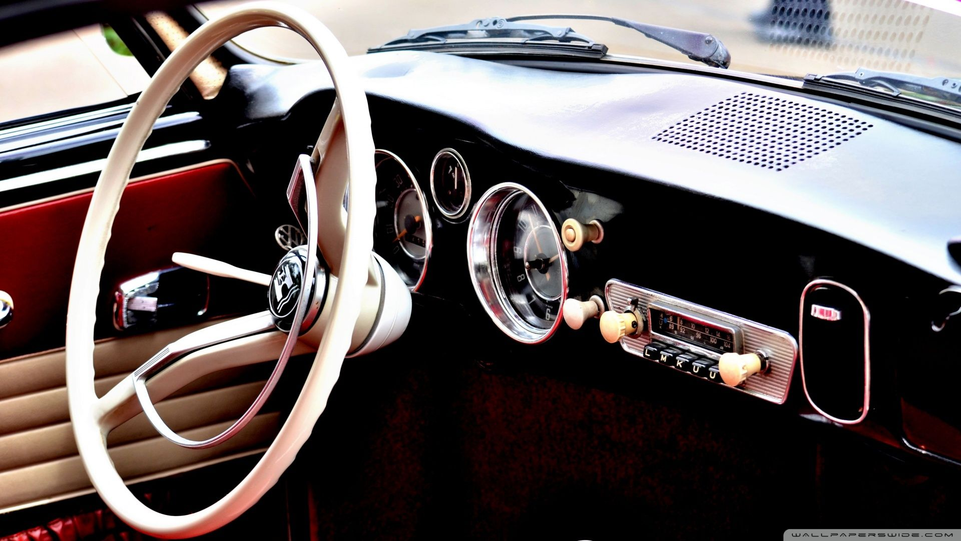 Classic Car Interior wallpaper | 1920x1080 | #16497