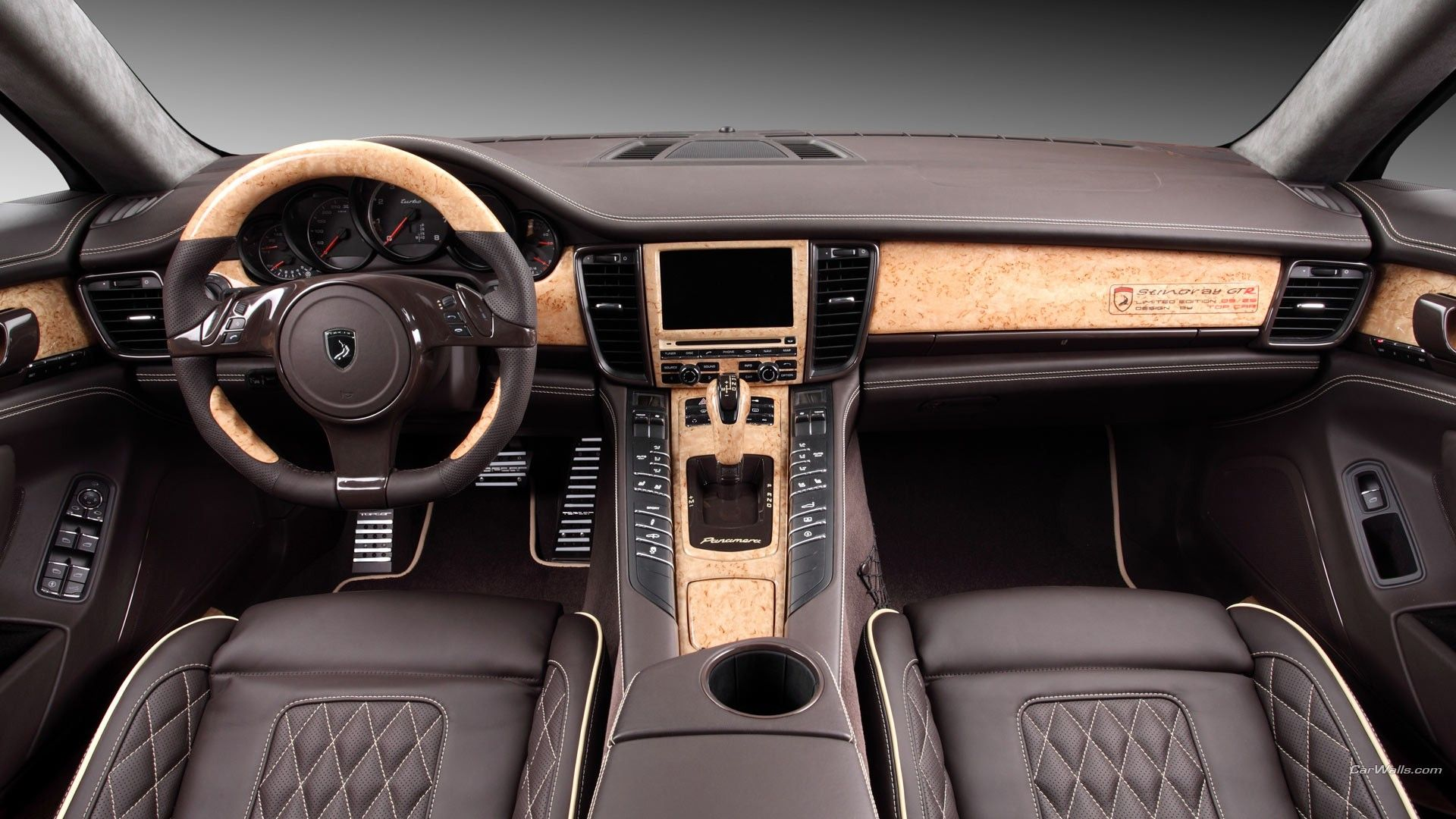 Porsche Panamera, Car, Car Interior Wallpapers HD / Desktop and ...