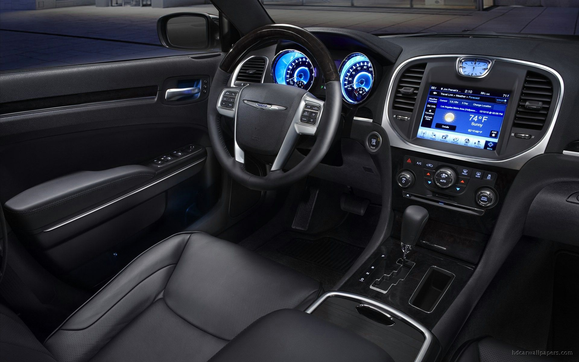 2011 Chrysler 300 Interior Wallpaper | HD Car Wallpapers
