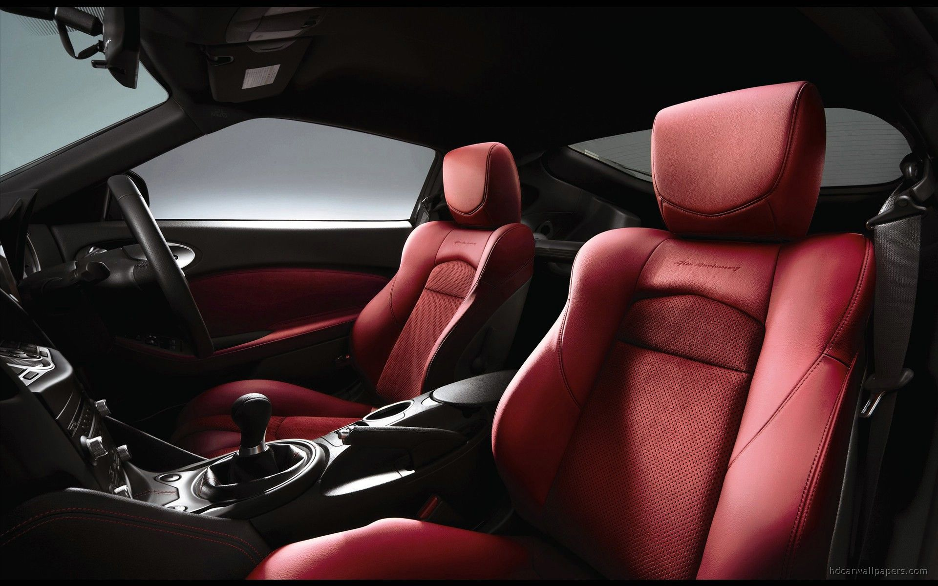 Nissan New Limited Edition 370Z 40th Anniversary Model Interior ...