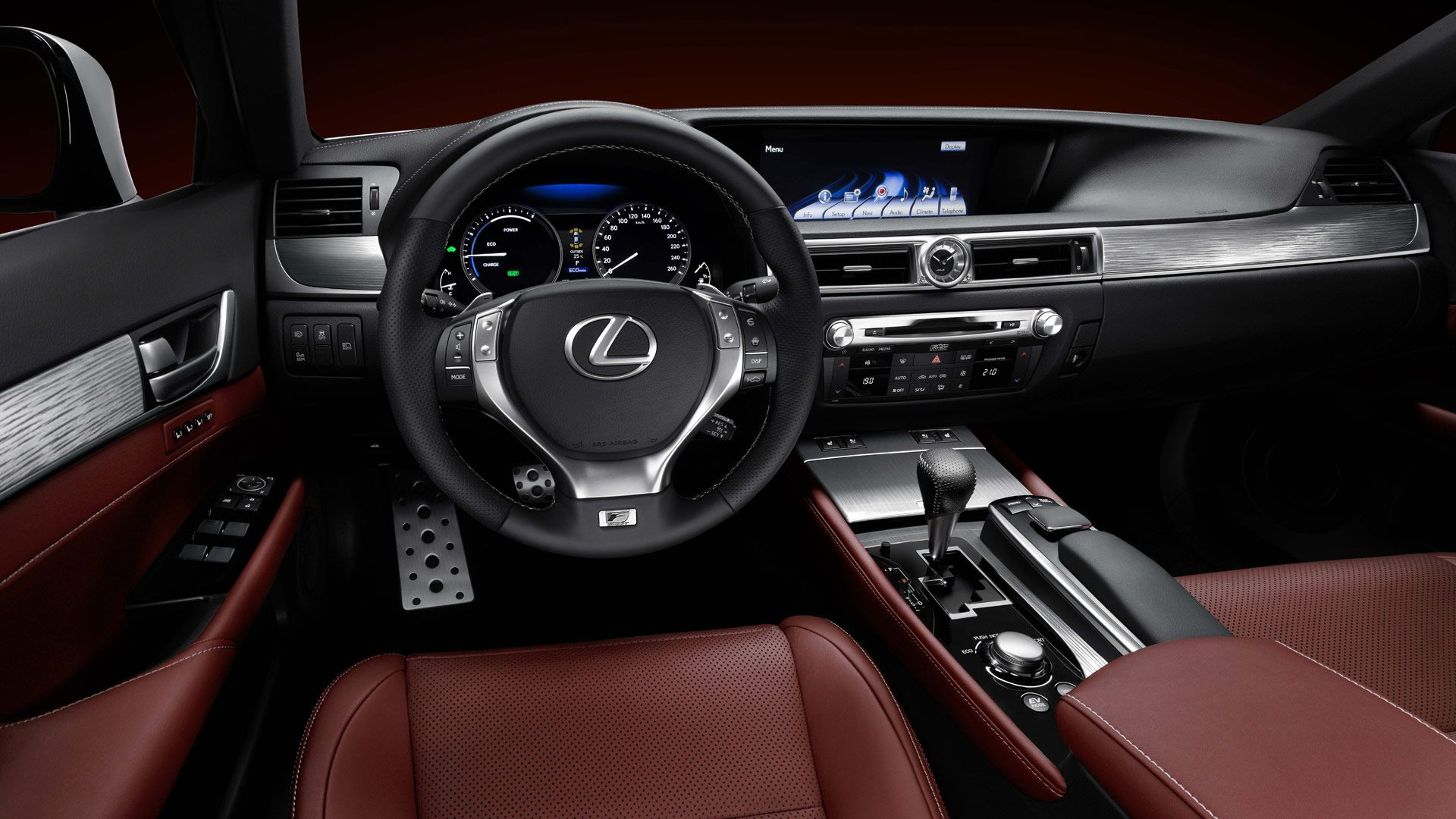 Lexus Car Interior Wallpaper HD 4776 1920x1080 - uMad.com