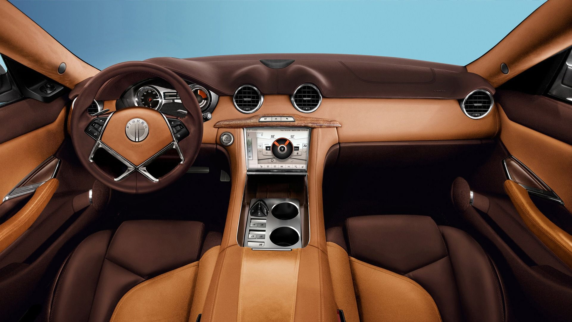 Fisker Car Interior Wallpaper 4792 1920x1080 - uMad.com