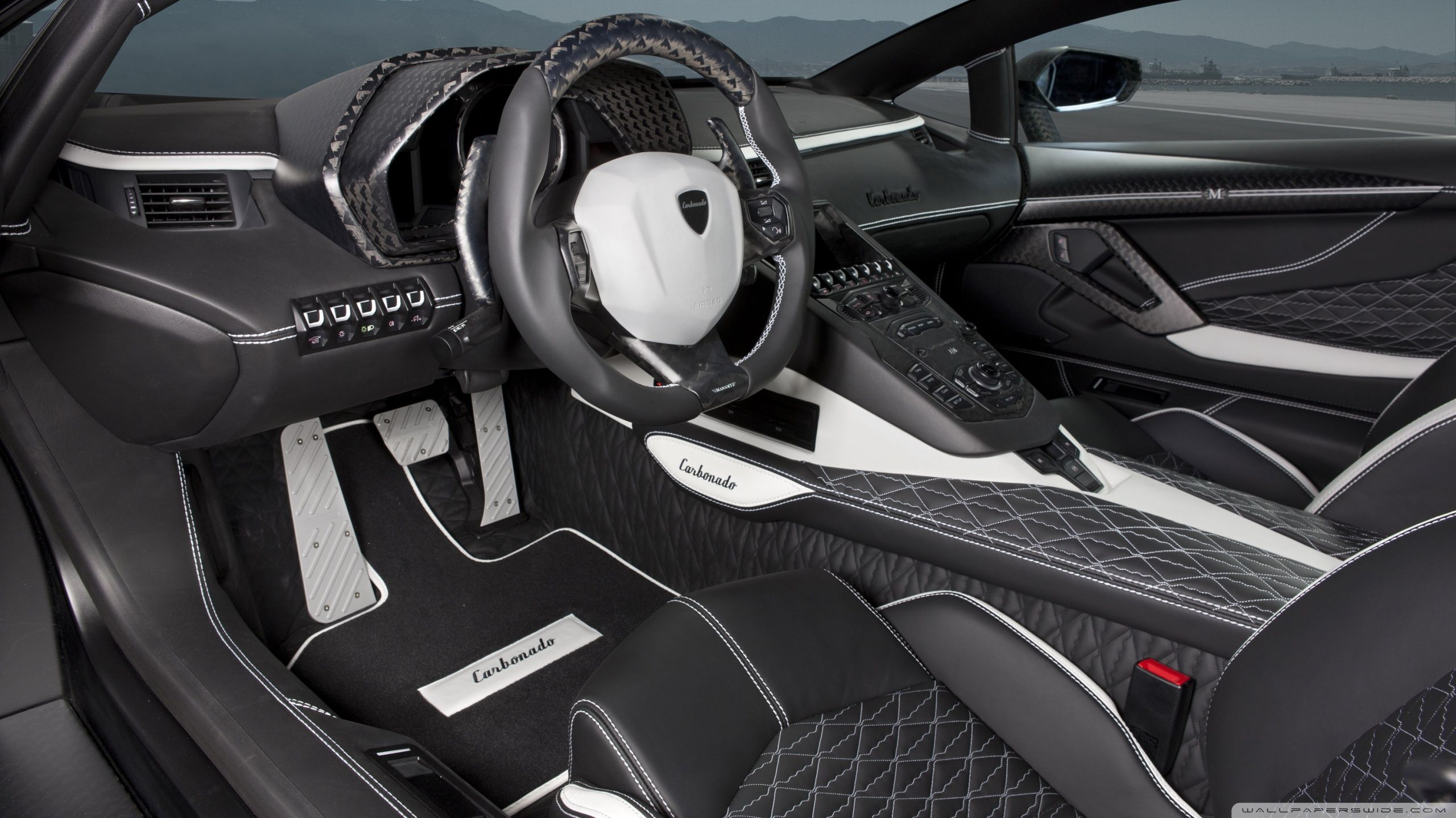 Lamborghini Aventador LP700 4 Car Interior HD desktop wallpaper ...