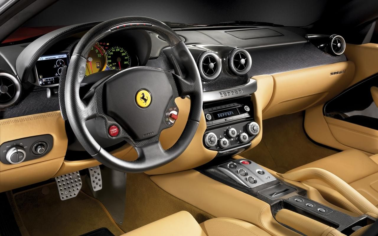 Ferrari Car Interior Wallpaper 4783 1280x800 - uMad.com