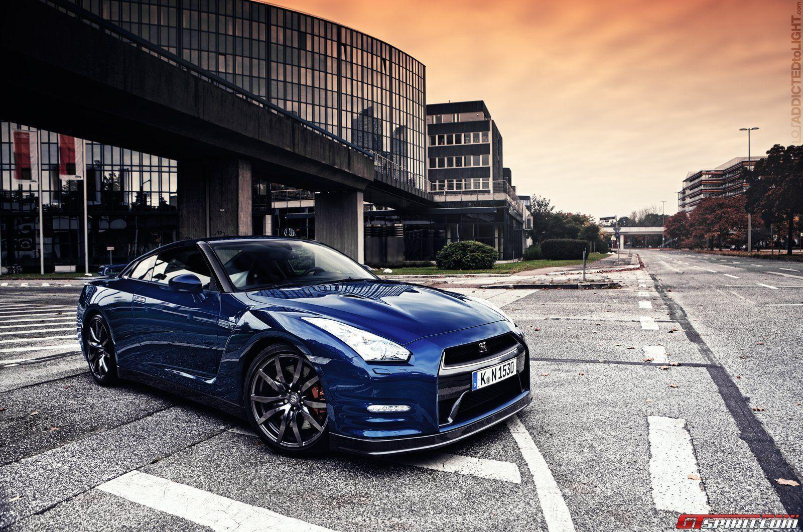Blue Nissan GTR HD Wallpaper #5975 | Hdwidescreens.