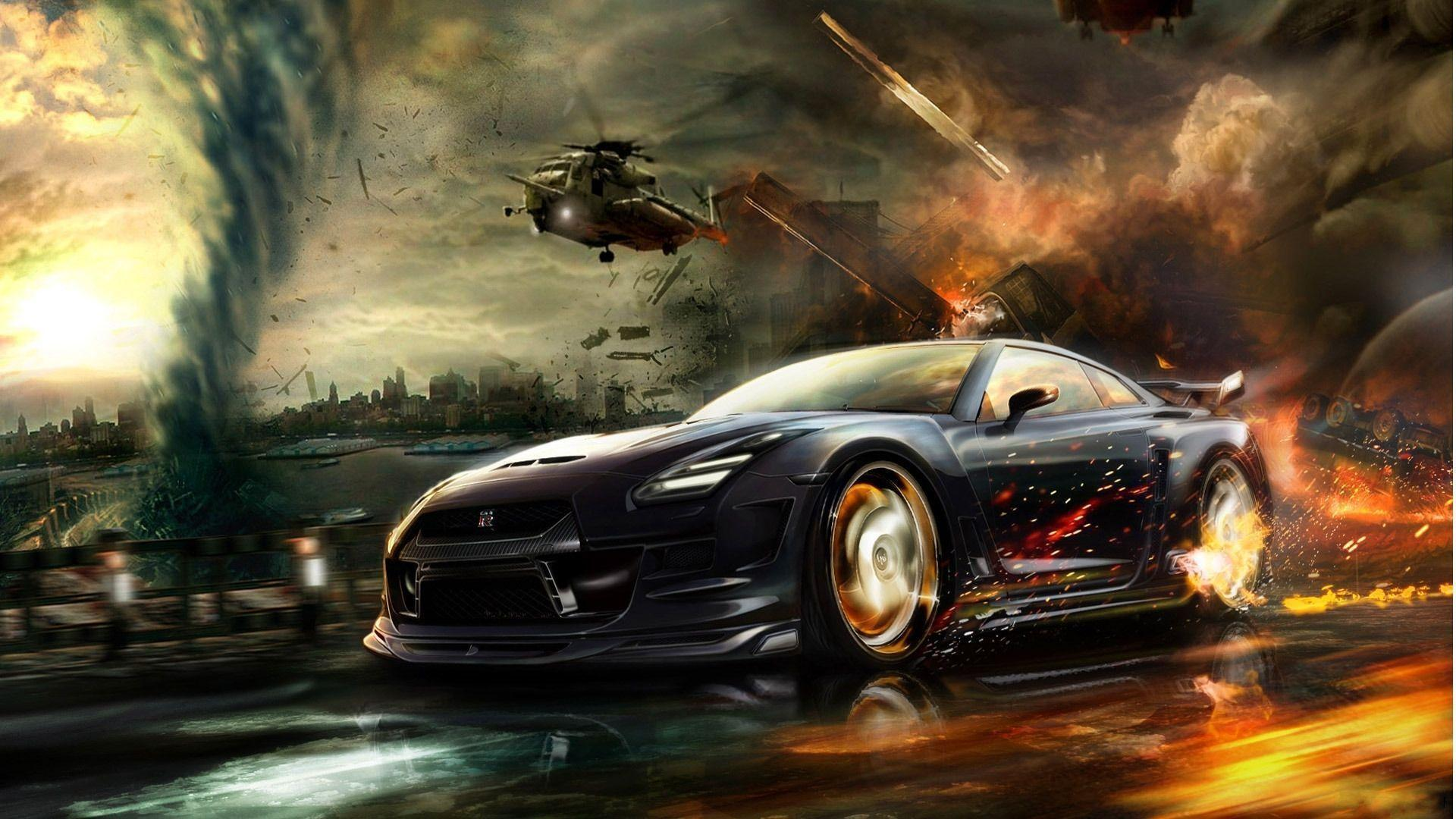 Nissan GTR In Games Wallpaper #1137 Wallpaper | Cool Walldiskpaper.com