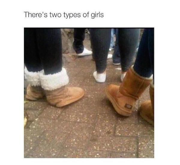 there are two types of girls in the world xx photos 1 There are two types of girls in the world... (30 Photos)