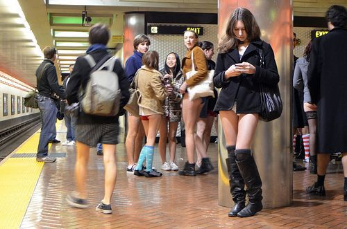 no pants subway 32 No pants subway ride 2012 (36 Photos)