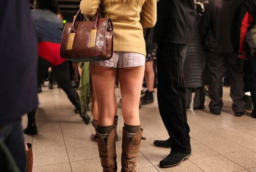 no pants subway 23 No pants subway ride 2012 (36 Photos)