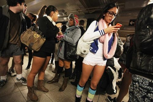 no pants subway 10 No pants subway ride 2012 (36 Photos)