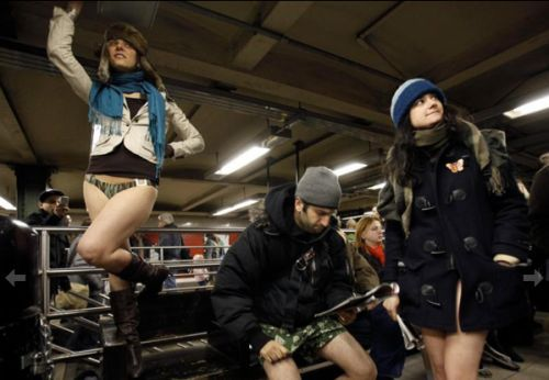 no pants subway 2 No pants subway ride 2012 (36 Photos)