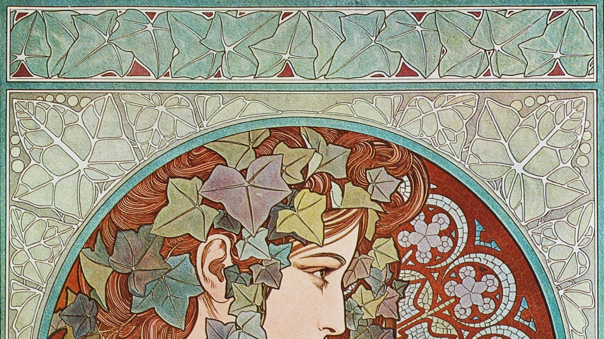 Free Alphonse Mucha Wallpapers Photo « Long Wallpapers