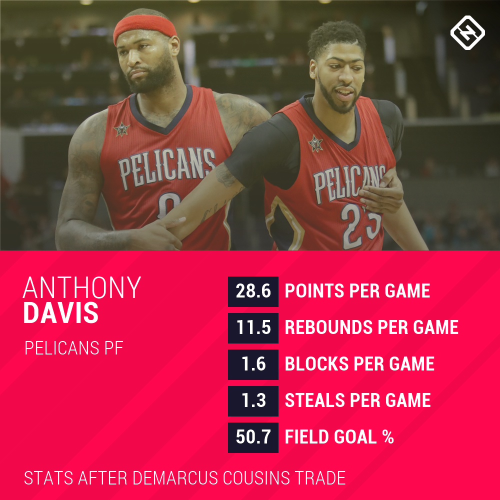 Pelicans' future riding on results of Anthony Davis-DeMarcus ...