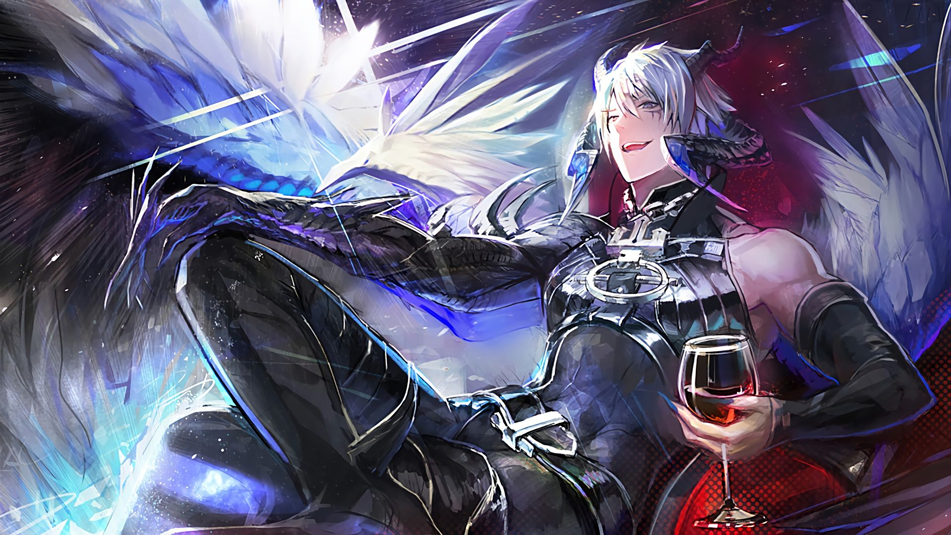 Azazel | Shingeki no Bahamut (Rage of the Bahamut) | 5 Wallpapers