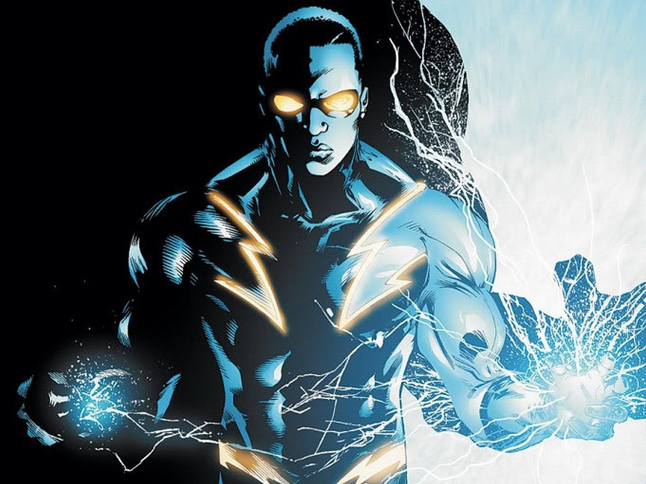 Black Lightning Wallpaper and Background | 1280x960 | ID:232128