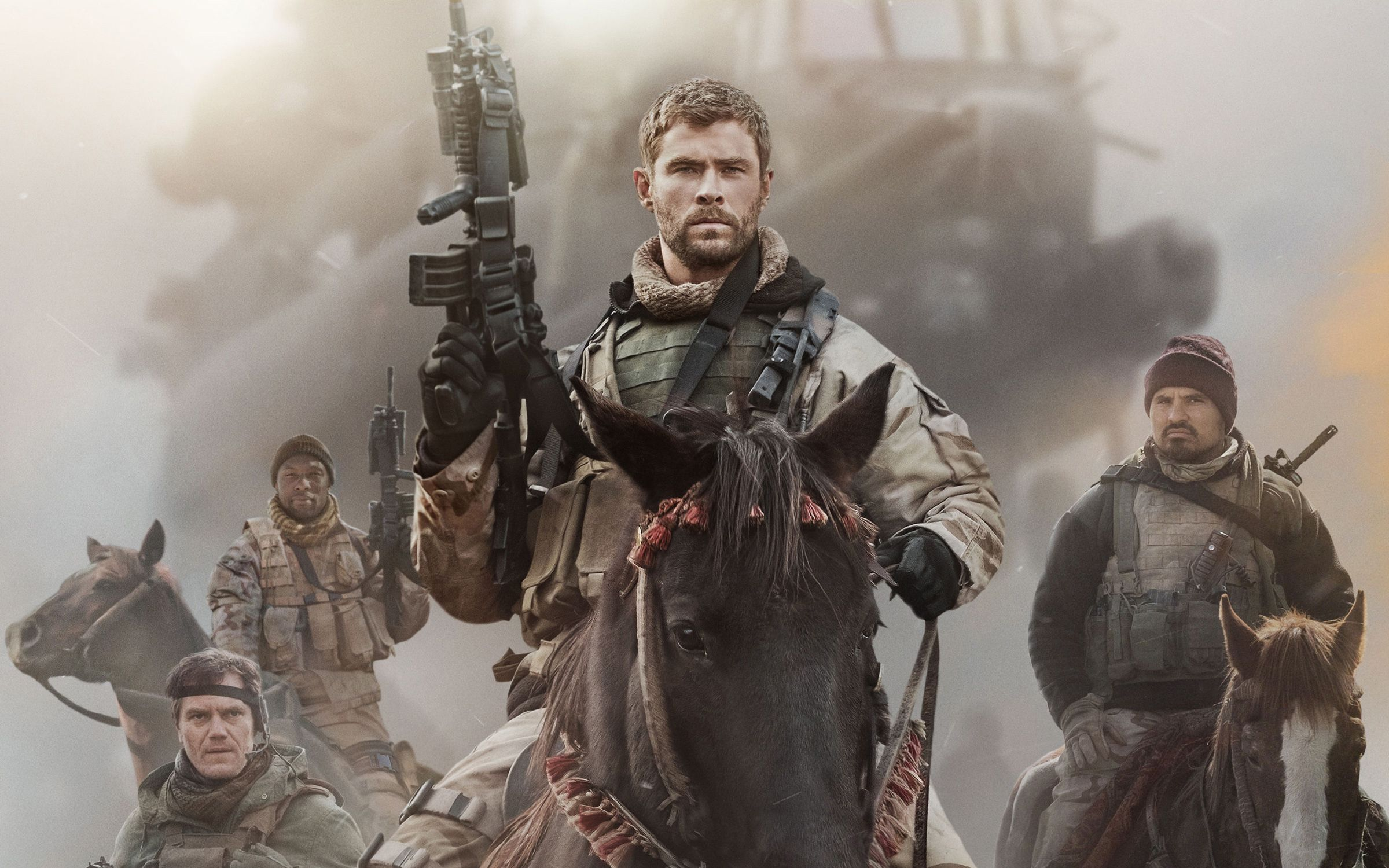 Chris Hemsworth in 12 Strong 2018 Wallpapers | HD Wallpapers