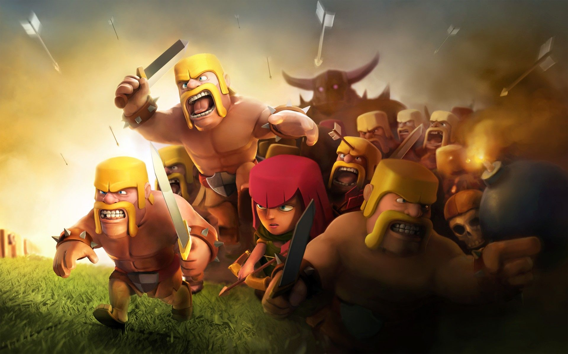 Clash Of Clans Wallpapers High Quality | Download Free