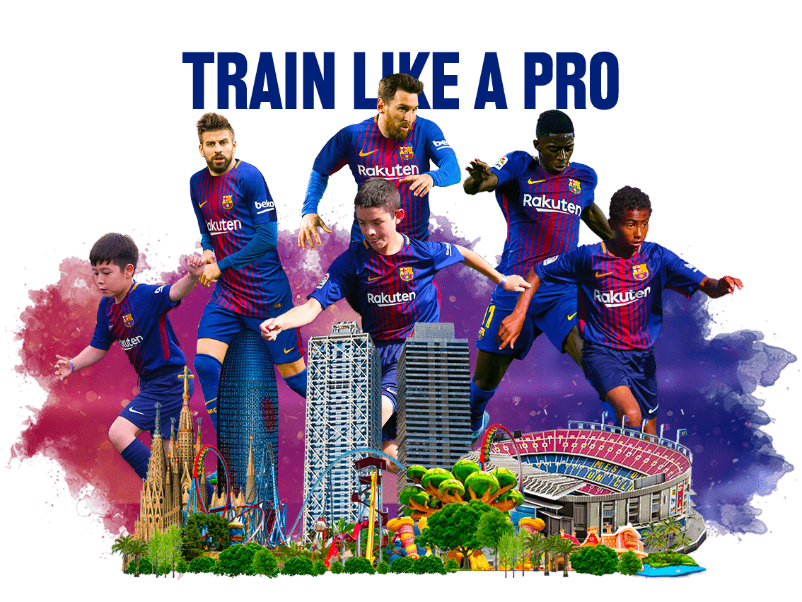 FCBarcelona Soccer Camps in Barcelona. Soccer Camp in Spain ...