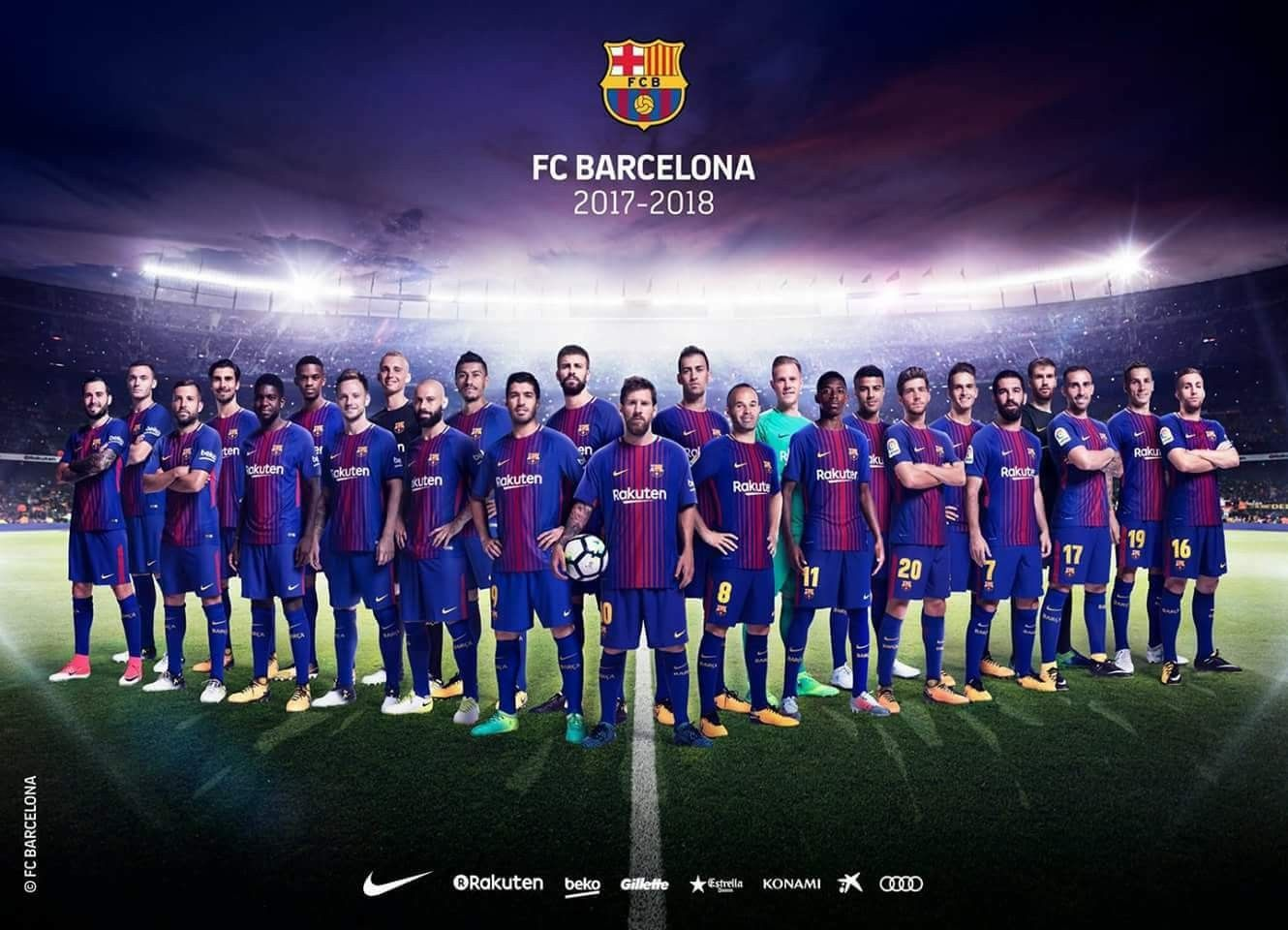 FC Barcelona wallpaper FCB Barça 2017 wallpaper | FCB | Pinterest ...