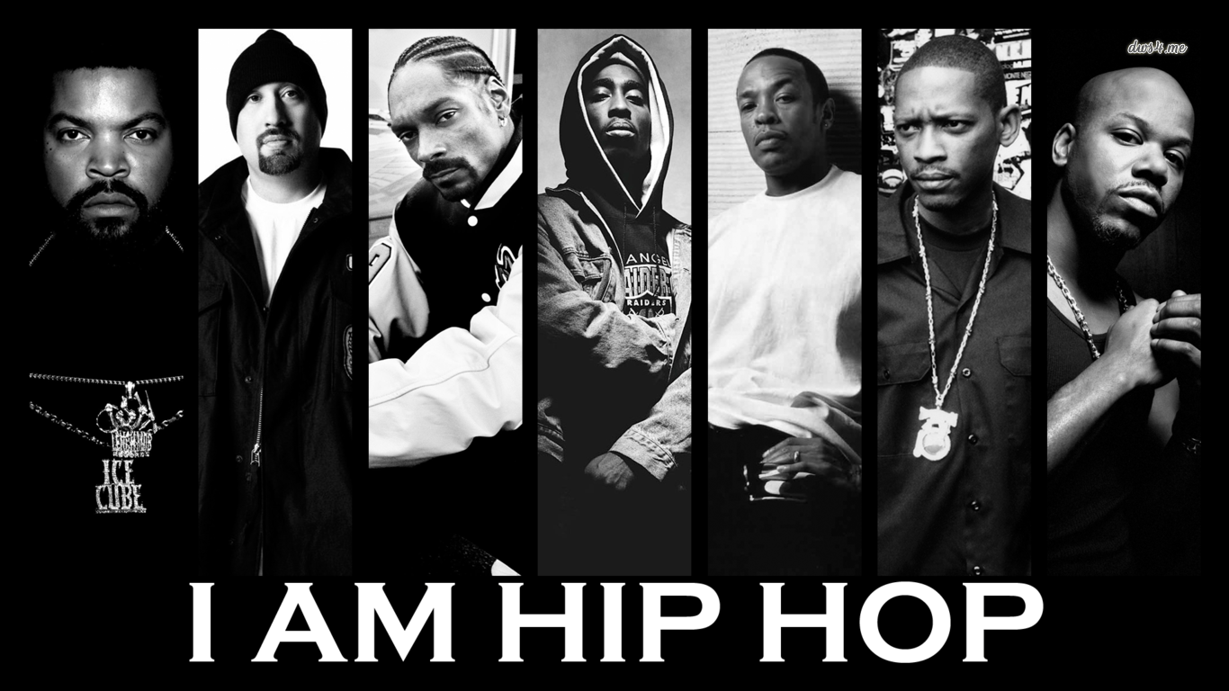 I am Hip Hop wallpaper - Music wallpapers - #